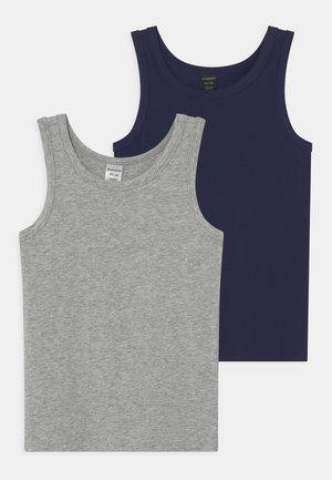 TANKS 2 PACK - Undershirt - blue
