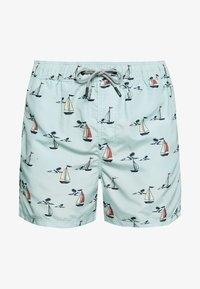 Jack & Jones - JJIARUBA JJSWIMSHORTS SAILOR - Shorts da mare - cool blue - 2