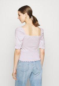 Even&Odd - Basic T-shirt - lilac - 2