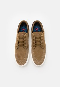 Nike SB - ZOOM JANOSKI UNISEX - Sneakers - yukon brown/sail/mystic navy - 3