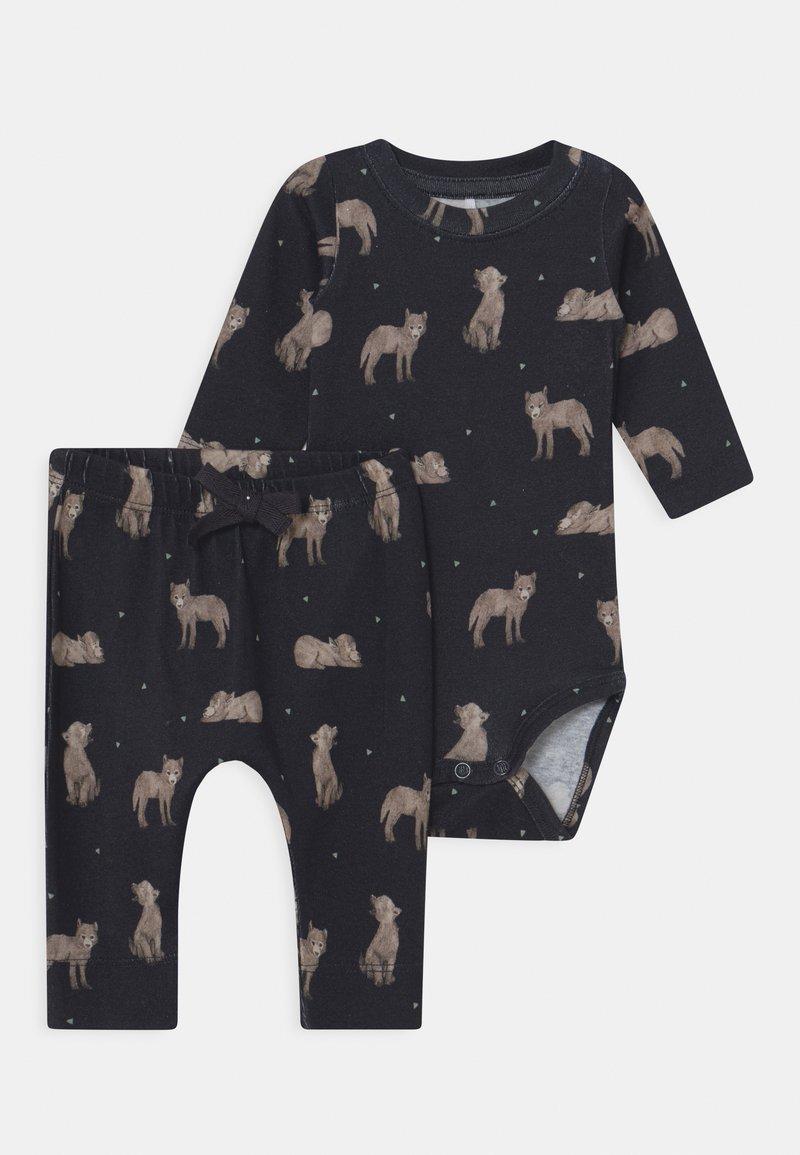 Name it - NBMLINUS SET - Leggings - Trousers - dark sapphire