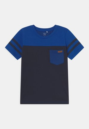 NKMLACKSCHOOL - T-shirts med print - dark sapphire