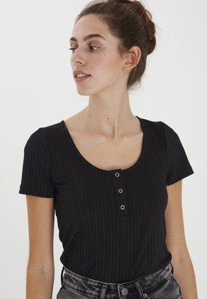 IHROOHI - Print T-shirt - black