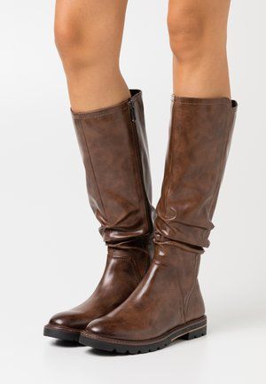 BOOTS - Kozaki - chestnut antic