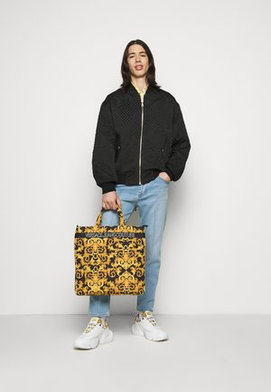 UNISEX - Tote bag - black/gold