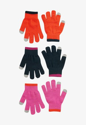 3 PACK  - Gloves - pink