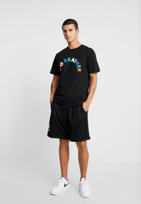 Cayler & Sons - NO BRAINER TEE - Print T-shirt - black - 1