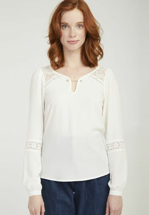 MENT - Long sleeved top - ecru