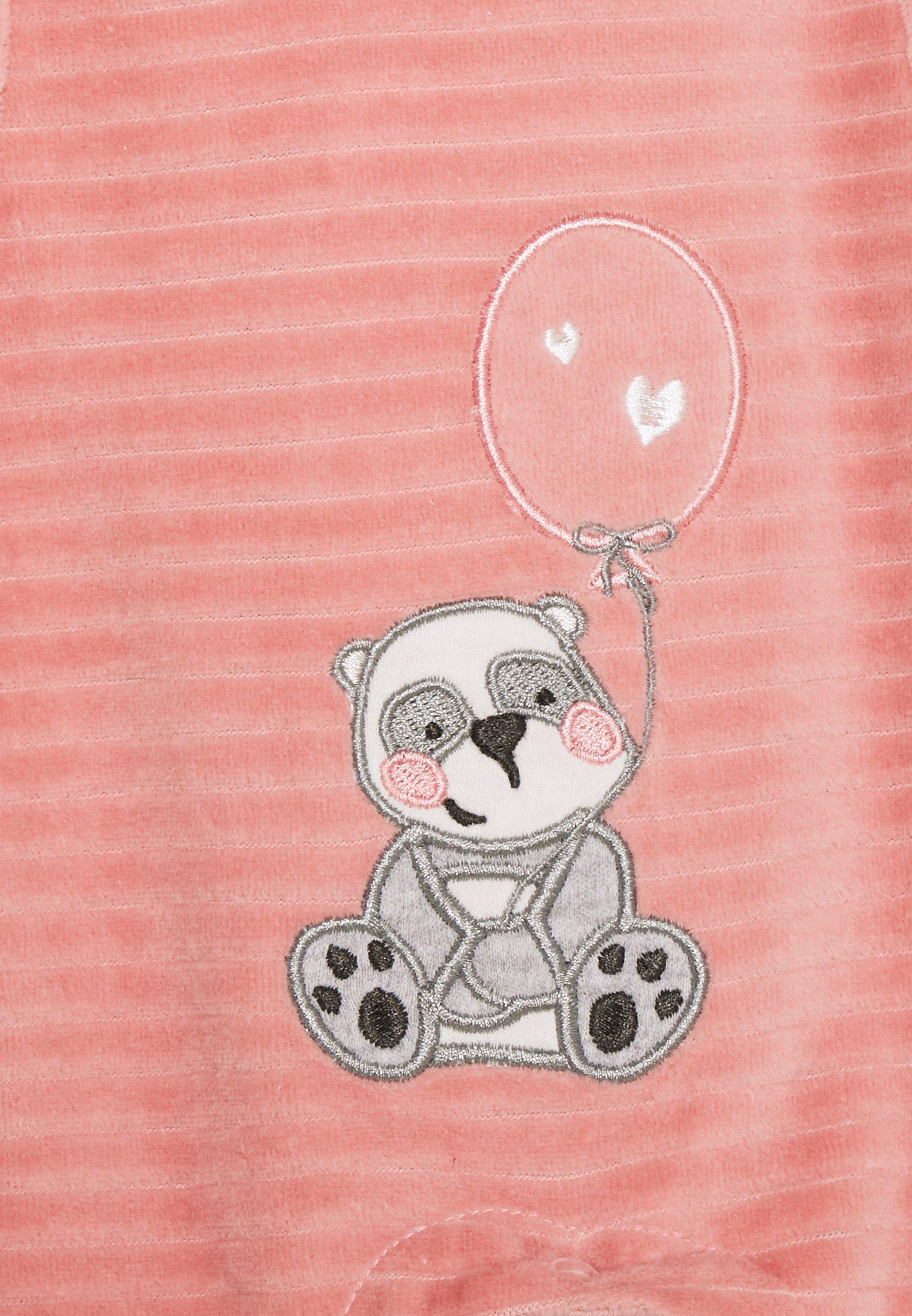 Billig og dejligt Jacky Baby PANDA LOVE SET  Natdragt  dunkelrosa/off white QhmEI