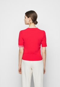 KARL LAGERFELD - PUFF LOGO - Print T-shirt - tangerine - 2