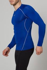 Under Armour - COMP - T-shirt de sport - blau/grau - 2
