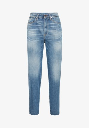 JANEH ULTRA HIGH MOM RP ANKLE - Slim fit jeans - faded spruce blue