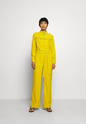 CELESTA - Jumpsuit - lemon curry