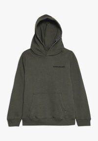 Calvin Klein Jeans - LOGO TAPE HOODIE - Hoodie - green - 0