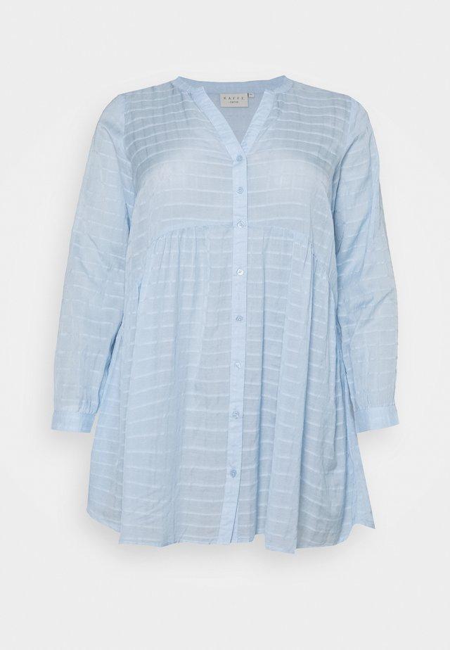 KCFELIA TUNIC - Bluser - chambrey blue