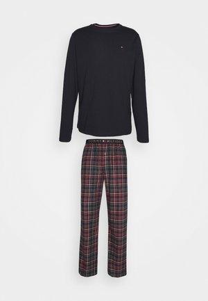 PANT TEE SET - Pyjama - desert sky/regatta red
