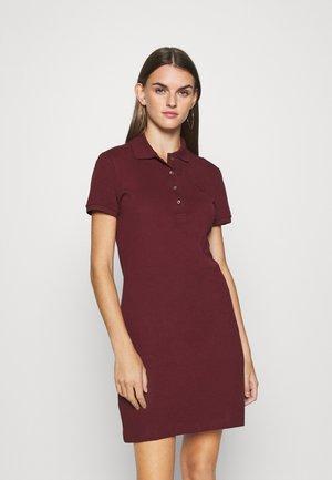 Korte jurk - vin