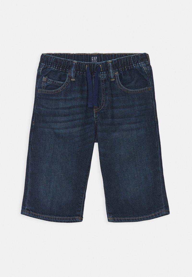 GAP - BOY - Denim shorts - dark wash