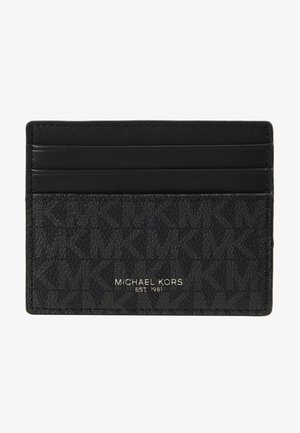 TALL CARD CASE UNISEX - Plånbok - black