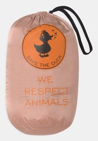 Save the duck - IRIS HOODED UNISEX - Lehká bunda - powder pink - 2