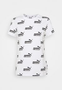AMPLIFIED TEE - T-shirts med print - white