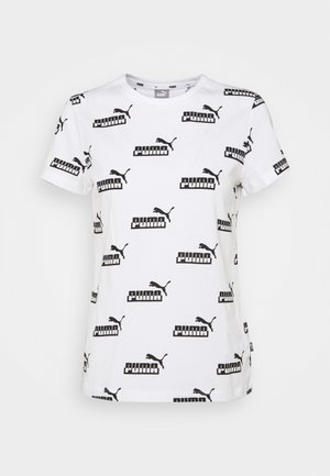 AMPLIFIED TEE - T-shirt print - white