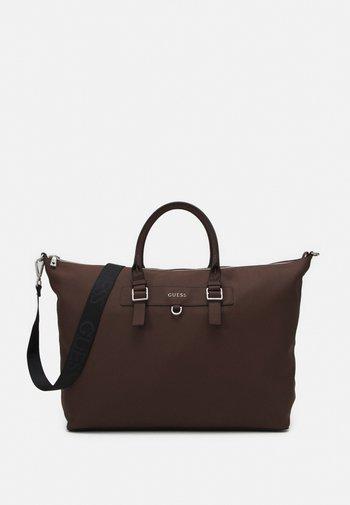 RIVIERA - Weekend bag - brown