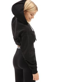 Vans - WM STRAIT OUT TURVY II HOODIE - Hoodie - black - 1