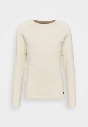 BASIC CREWNECK - Svetr - light almond