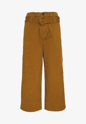PAPER BAG PANT - Trousers - fatigue