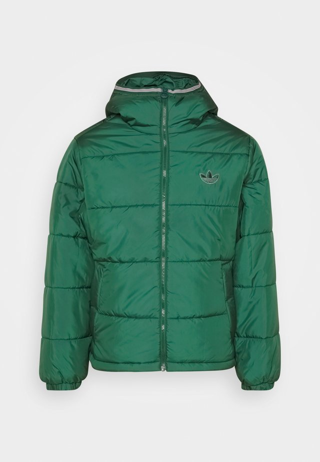 HOODED PUFF - Winterjacke - green