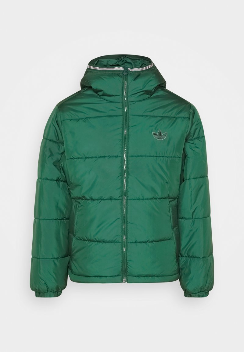 adidas Originals - HOODED PUFF - Veste d'hiver - green
