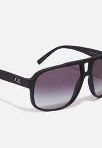Armani Exchange - Sunglasses - matte black - 3