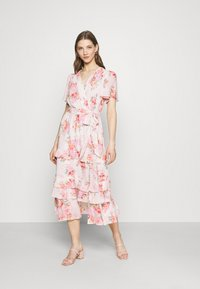 Forever New - SUSANNA RUFFLE TIERED MIDI DRESS - Day dress - blush spring - 1