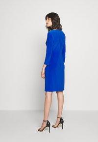 Lauren Ralph Lauren - MID WEIGHT DRESS - Shift dress - sapphire - 2