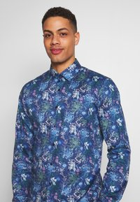 OLYMP - OLYMP NO.6 SUPER SLIM FIT  - Formal shirt - marine - 3