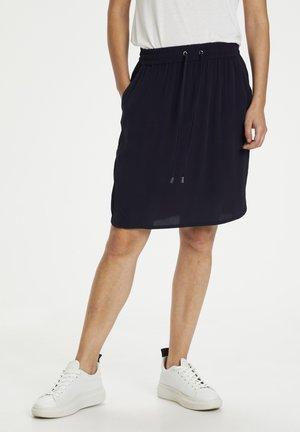 A-line skirt - bl deep