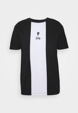 ROSE TEE - T-shirt con stampa - black