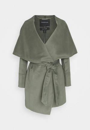WILLOW WRAP COATS - Manteau classique - green