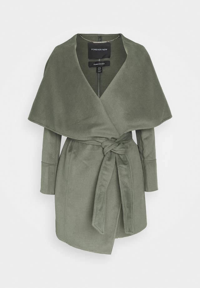 WILLOW WRAP COATS - Classic coat - green