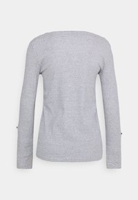 TOM TAILOR - Long sleeved top - offwhite navy - 1