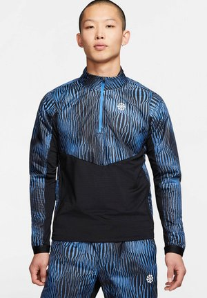 "NIKE PERFORMANCE HERREN LAUFSHIRT ""TRACK WARM PR"" - Sports shirt - blau (296)"