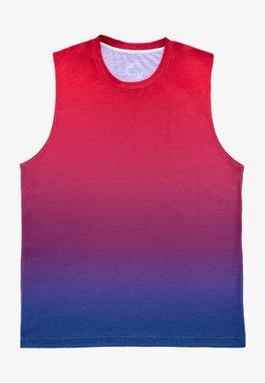 T-shirt de surf - dark red