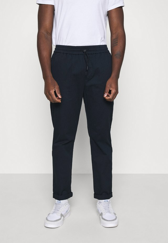 CASUAL TROUSERS - Pantalones - navy