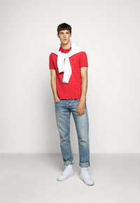 Polo Ralph Lauren - SLIM FIT MESH POLO SHIRT - Polo - evening post red - 1