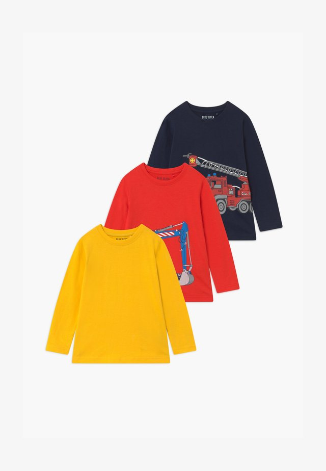 BOYS STYLE 3 PACK - Langarmshirt - multi-coloured