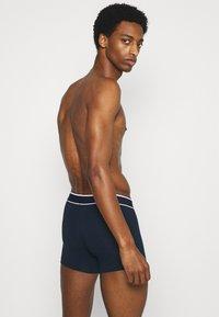 Schiesser - 3PACK Boxershorts Organic Cotton - 95/5  - Onderbroeken - dunkelblau - 1