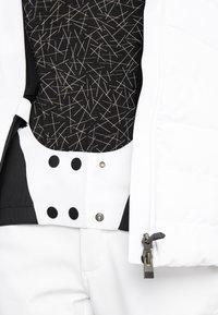 Kjus - WOMEN DUANA JACKET - Ski jacket - white/black - 7