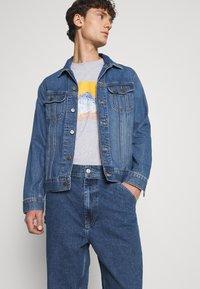 BDG Urban Outfitters - CARPENTER - Straight leg -farkut - dark vintage - 3