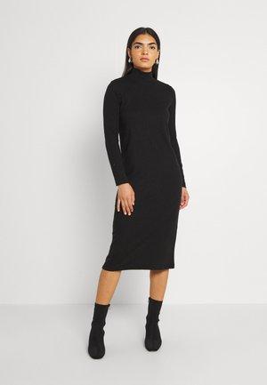PCMOLLY DRESS - Neulemekko - black